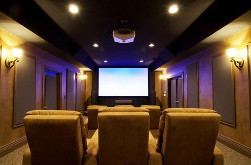 hometheater room